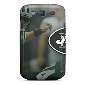 Hot New York Jets First Grade Tpu Phone Case For Galaxy S3 Case Cover