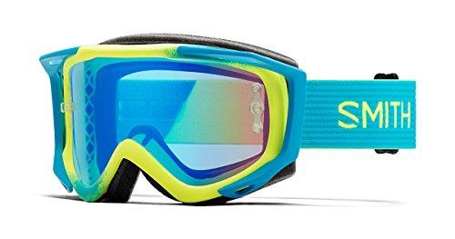 Smith Fuel V.2 Sweat-X M Goggles Acid Split/Rose Flash, One Size