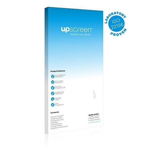 upscreen Bacteria Shield Clear Film de protection d'écran pour Dell U2412M (s) (anti-bactérien, haute transparence, anti-trace, application sans soufflures, découpe sur mesure)