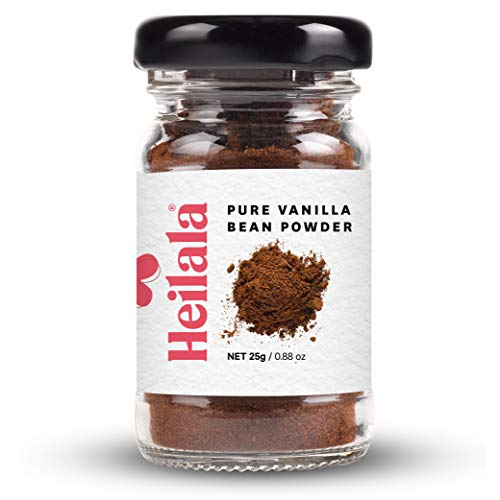 Vanilla Bean Powder, 0.88 oz - 100% Organically Grown, Hand-Picked Vanilla Beans ()