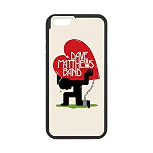 Classic Style Custom Silicone Hard Rubber Protector Case for iPhone6(4.7inch) - Dave Matthews