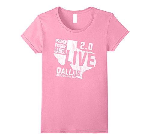 - Womens PPL 2.0 Live - Dallas Official T-Shirt XL Pink