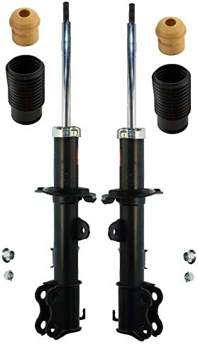 KYB Front Suspension Struts and Mounts Kit For Nissan Versa 2007-2011
