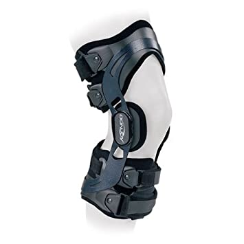 ac74a4eca4 Donjoy Everyday Knee Brace Mild ACL PCL LCL Instabilities Non Contact  Sports Easy Fit Home Use Lightweight & Comfortable Medium Left by DonJoy:  ...
