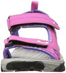 Northside Riverside Fisherman Sandal (Toddler/Little Kid/Big Kid),Fuchsia/Multi,3 M US Little Kid