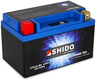 SHIDO LTX12-BS LION -S- Batería de ion de litio, color azul