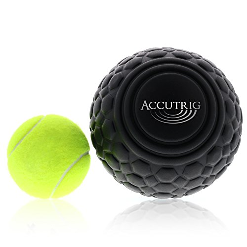 Trigger Point Massage Ball - Myofascial Release Therapy - Deep Tissue Massager - Natural Muscle Relaxer for Full Body, Back, Neck & Shoulder Relief by Accutrig by Accutrig (Image #4)