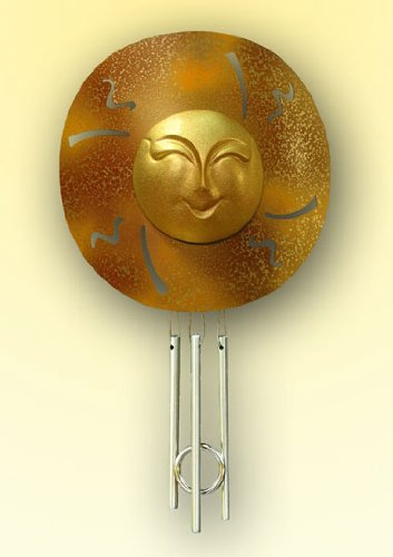 Cheap Sunblossom Solar Gifts Sun Solar Powered Indoor Window Chime