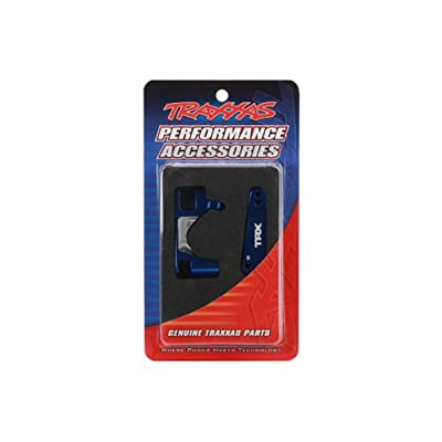 Traxxas 6832X Blue-Anodized Aluminum Caster Blocks (L&R): Toys & Games