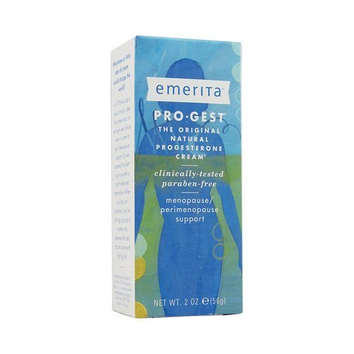 Emerita EMERITA Pro-Gest Cream Paraben Free 2 OZ (Pack of 6)