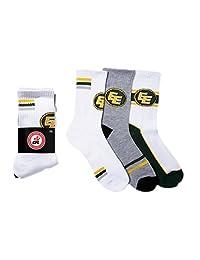 CFL Edmonton Eskimos Boys 3-Pack Socks