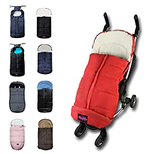 Universal FOOTMUFF FITS Most Todder Strollers/Sleeping Bag Cocoon