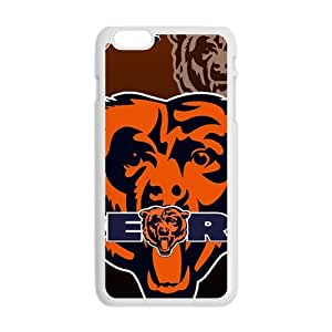 Chicago Bears Design Fashion Comstom Plastic case cover For Iphone 6 Plus