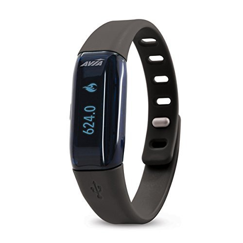 Avia STRIDE Bluetooth OLED Display Enabled App-Based Activity Tracker by Avia