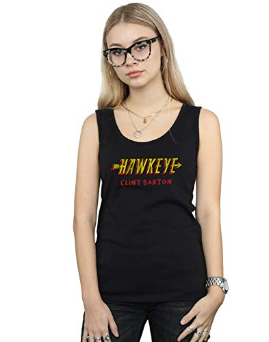 Marvel Mangas Negro Sin Camiseta Aka Mujer Hawkeye Barton Clint qxnCwRpHq