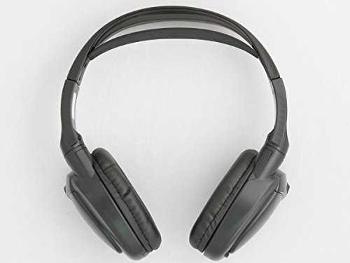 Chrysler Town & Country Wireless DVD Headphones (Black, 1 Headset)