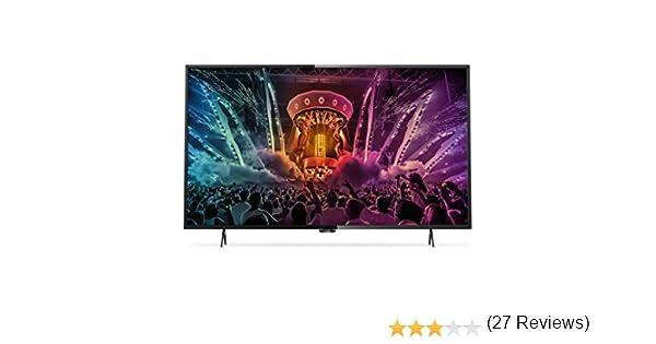Philips - Philips 43Puh6101 TV Led 434K Uhd Smart TV: Amazon.es: Electrónica