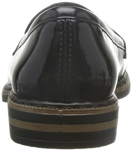 Mocasines Rieker Mujer Noir 50662 Negro para appCxzwq