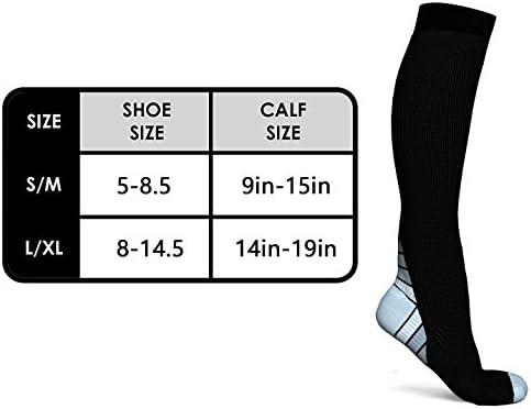 Progoco Calcetines de compresión para Hombres y Mujeres,Ideales ...