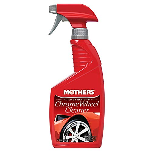 Mothers 5824 Pro-Strength Chrome Wheel Cleaner, 24 oz. 05824 Cleaner-24 -