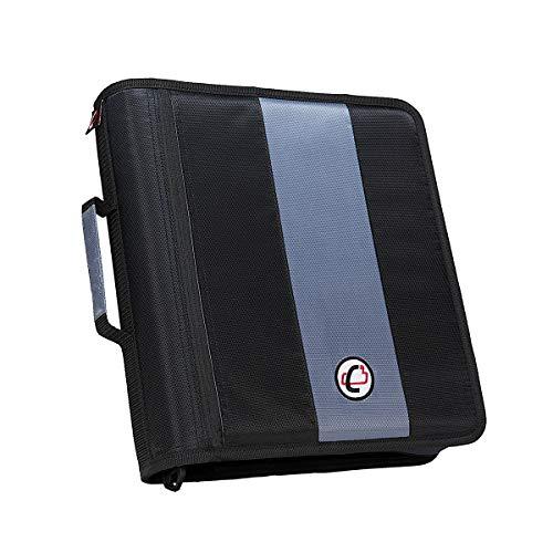 Case-it Case-It BKP-102 Laptop Backpack with Hide-Away Binder Holder