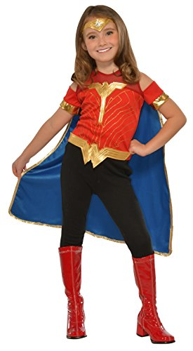 Imagine by Rubies Wonder Woman Child's Costume Shirt with Cape & Tiara Costume