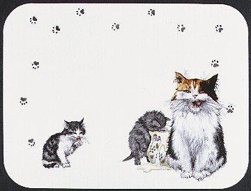 (TUFTOP Cutting Board TT00272 Cats Whiskers - Medium (12' 'x16' '))