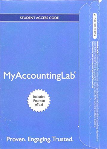 Financial Accounting Myaccountinglab