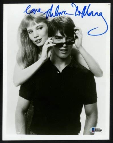 Rebecca De Mornay Autographed 8x10 Photo Risky Business Beckett Bas #H44348