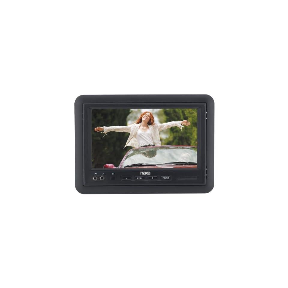 NAXA Electronics NCV 573 7 Inch TFT LCD Car Headrest Monitor with Remote Control