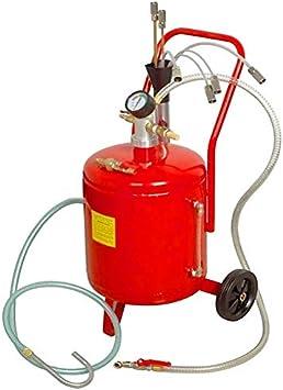 Aspiradora y extractora de aceite 24 litros neumatica para cambios de aceite de coche, camion, tractor, etc: Amazon.es: Bricolaje y herramientas
