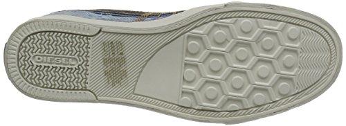 Diesel D-STRING - Herren Schuhe Sneaker - Y01107 P0917 - blau