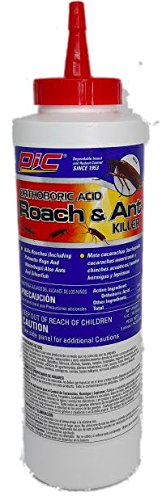 Exterminator Costume Bug (Pic Orthoboric Boric Acid Roach & Ant Killer 5oz)