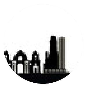alfombrilla de ratón horizonte de la ciudad de Berlín - ronda - 20cm