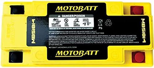 Rt 1100cc 93-00,R1150gs R 1150cc 00-05 51814 51913 YT19BL-BS DB Electrical MB51814 New Battery for Motobatt Battery 22Ah,Bmw K1600gt GTL 1600cc 11-14,K1300gt 1300cc 09-11,R75//5 750cc 70-73,R1100rs