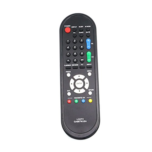 (Replacement Remote Control Controller For Sharp LCD TV Lc-32d44u, Lc-46d78un, Lc-52sb57, Lc-c3237, Lc-60e79u, Lc-c4655, Lc-46sb54, Lc-37d44u)