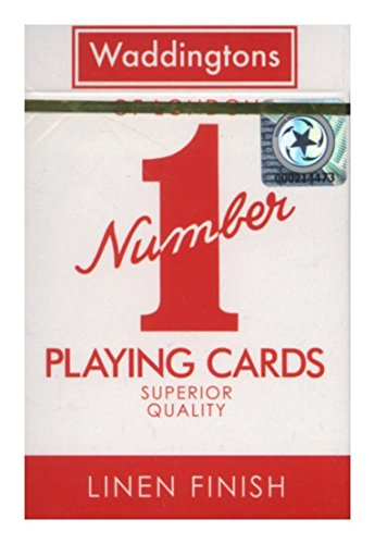 Waddingtons Number 1 Original Red and Blue Playing Cards