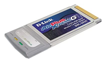 D LINK AIRPLUS XTREME G DWL G650 ADAPTER DRIVERS FOR WINDOWS VISTA