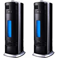 2 Two Carbon Ionic Air Purifier Ionizer Negative Fresh Ions Pro Breeze Black