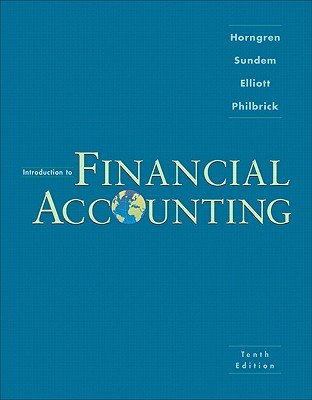 Introduction to Financial Accounting   [INTRO TO FINANCIAL ACCOUNT-10E] [Hardcover] pdf epub