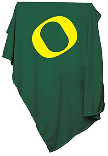 (Logo Oregon Ducks 84 X 54 Sweatshirt Blanket - Green,)