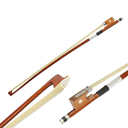 1/2 Full Size Arbor Violin Bow with Black Handle Brown (1/2)