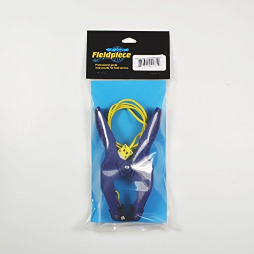 """Fieldpiece ATC2 Large Pipe-Clamp Thermocouple 3/8"""" to 2 1/4"""" for Air Conditioning ()"""