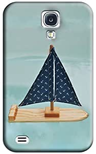 Canoes Hard Back Shell Case / Cover for Galaxy S4
