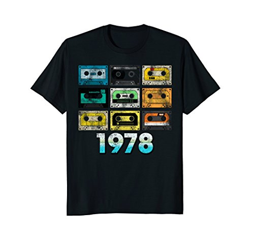 Retro Cassette Tape 40th