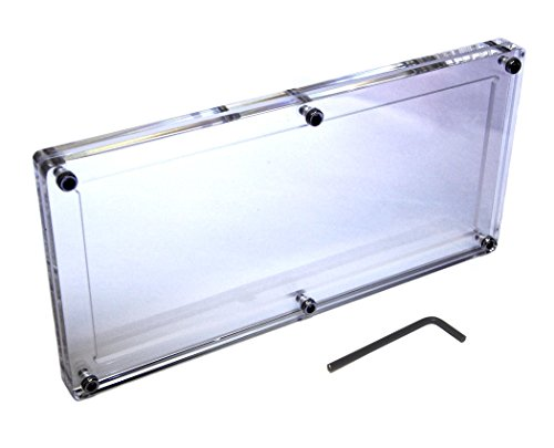 Acrylic Large Bill Frame Money Holder Silver Certificate Bank Note Slab Early Dollar Currency Display Case Pre-1929