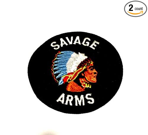 Amazon.com  SAVAGE ARMS ROUND EMBROIDERED LOGO PATCH 3