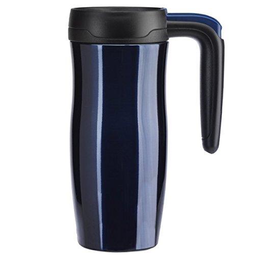 Contigo AUTOSEAL Randolph Stainless Steel Travel Mug Vacuum Insulated, 16oz, Midnight Blue from Contigo