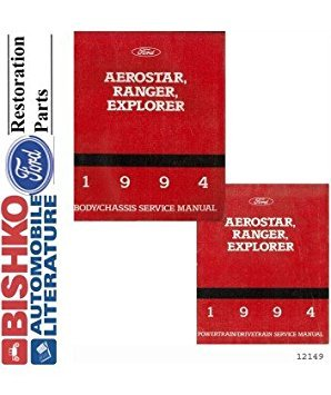 1994 Aerostar Explorer Ranger Shop Service Repair Manual