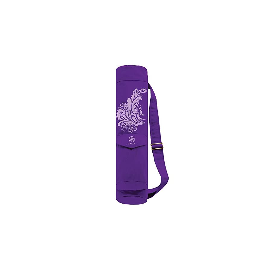 Gaiam Full Zip Cargo Pocket Yoga Mat Bags